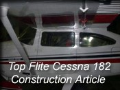 top flite cessna 182 preview