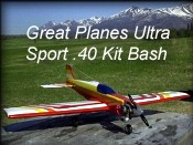 preview image of kit bashing the great planes ultra sport 40